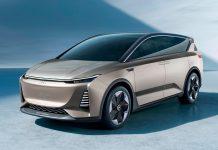 Kinesiske Aiways blir etter alle solemerker den første kinesiske produsenten som tilbyr helelektriske SUV-modeller i Europa. (Foto: Aiways)