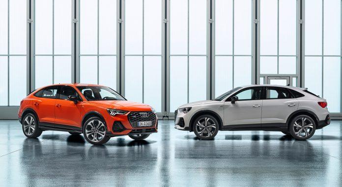 Audi kommer nå med en helt ny modellversjon, Q3 Sportback. (Alle foto: Audi)