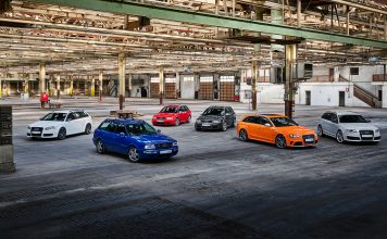 Audi feirer at det er 25 år siden den første RS-modellen kom, og kommer med to helt nye RS-modeller i år. (Alle foto: Audi)