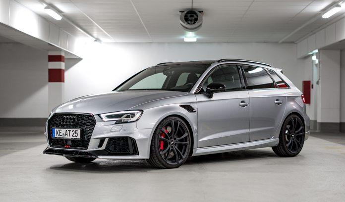 ABT har kastet seg over Audi RS3, og gitt den kompakte modellen hele 470 hk. (Alle foto: ABT)
