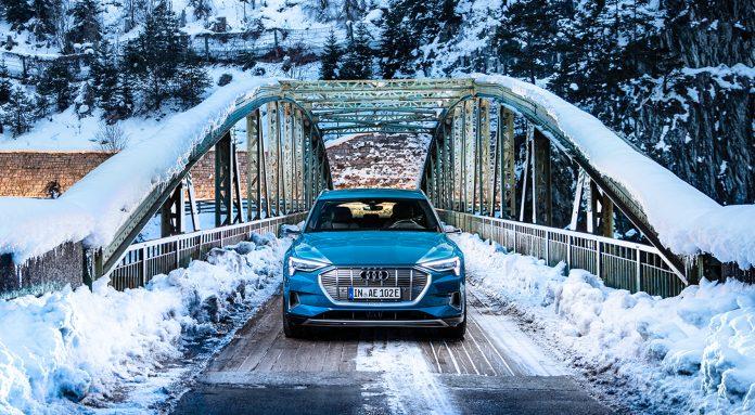 Audis elbil e-tron er blitt enda grønnere takket være Hydro. (Alle foto: Audi)