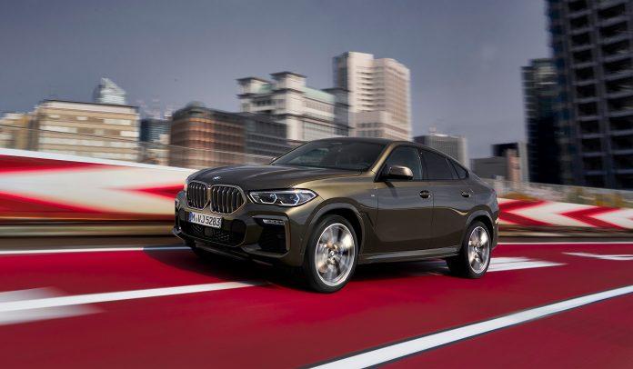BMW viser oss en ny X6, og denne kan du få med en motor som yter hele 530 hestekrefter. (Alle foto: BMW)