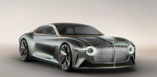 Dette er faktisk en Bentley. (Alle foto: Bentley)