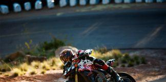 Sørafrikanske Carlin Dunne omkom under søndagens Pikes Peak. (Begge foto: Ducati)
