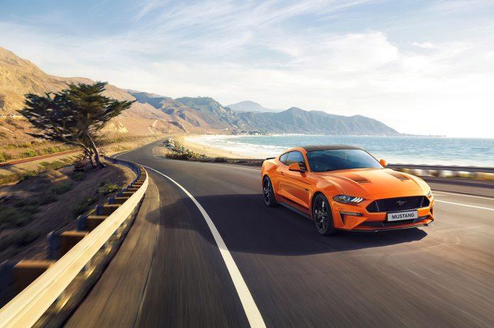 Ford introduserer nå en Mustang som feirer at det er 55 år siden den originale kom. (Alle foto: Ford)