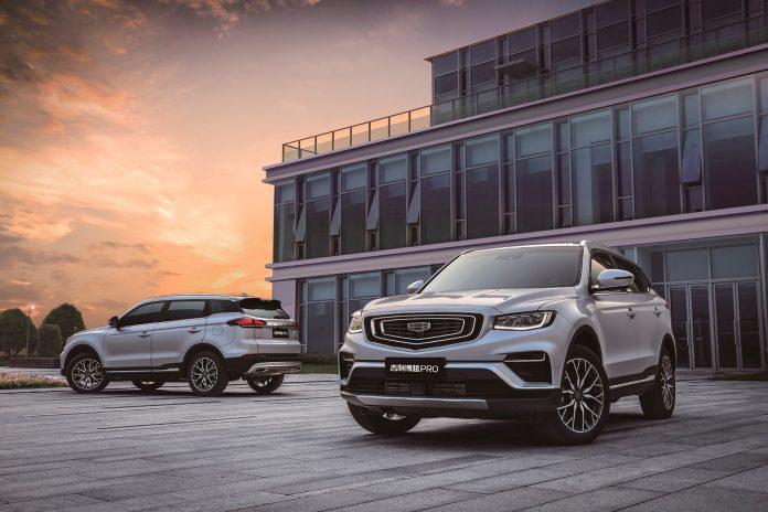 De store kinesiske merkene sliter med dalende salg på hjemmebane. Her den mest populære fra Volvos konsernsøster Geely Auto, modellen Boyue. (Foto: Geely Auto)