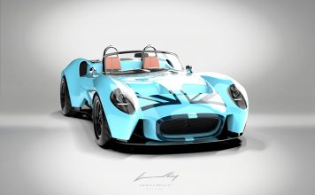 Denne bilen skulle egentlig kun lages for eget bruk, men så ballet det på seg. (Alle foto: Salon Privé)