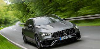 Mercedes-AMG lanserer nå en A 45-utgave av CLA Shooting Brake. (Alle foto: Daimler)