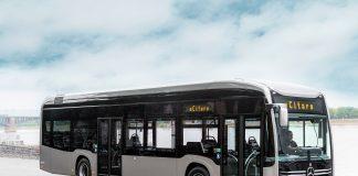 Norge blir et av de første landene utenfor Tyskland som får Mercedes' nye elbuss eCiatro. (Alle foto: Mercedes)
