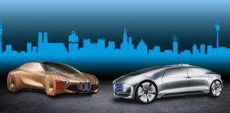 Ja, BMW + Mercedes = sant. (Foto: BMW/Daimler)
