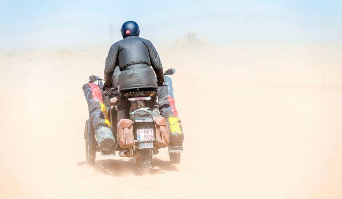 En trehjuling fullførte et rally som de startet på for 112 år siden. (Alle foto: Hero)