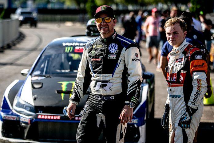 Det blir litt av et øyeblikk når Petter Solberg avslutter sin WRC-karriere og sønnen Oliver starter på sin under Rally Storbritannia oktober. (Alle foto: Wales Rally GB)