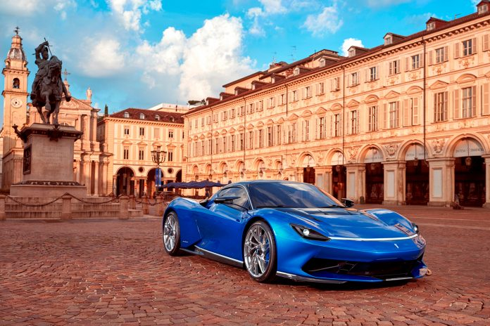 Det kommer flere nye elektriske hyperbiler, og også en fra de legendariske tuneselskapet Pininfarina. (Alle foto: Pininfarina)