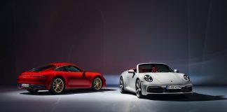 Nå er endelig grunnmodellen Porsche 911 Carrera her, og den kommer både med og uten tak. (Alle foto: Porsche)