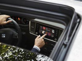 Seat gir nå flere av modellene en liten oppgradering, noe som betyr at Tarraco for eksempel kan fås med en ny 8-tommers skjerm med hengerassistent. (Alle foto: Seat)