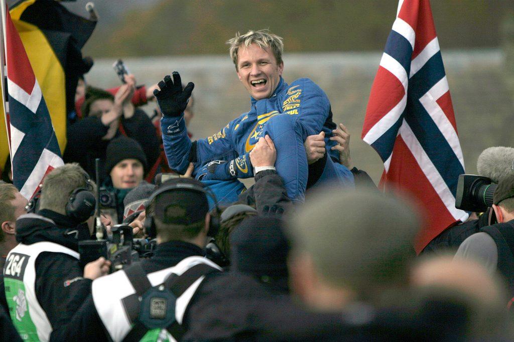 Petter Solberg har feiret mange triumfer i Wales.
