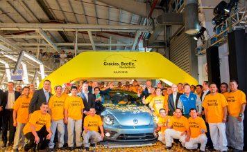 Det aller siste eksemplaret av Volkswagen Boble er produsert, og en æra er definitivt over. (Alle foto: VW)