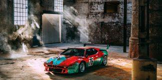 Slik har aldri Andy Warhols ikoniske BMW M1 blitt fotografert før. (Alle foto: BMW)