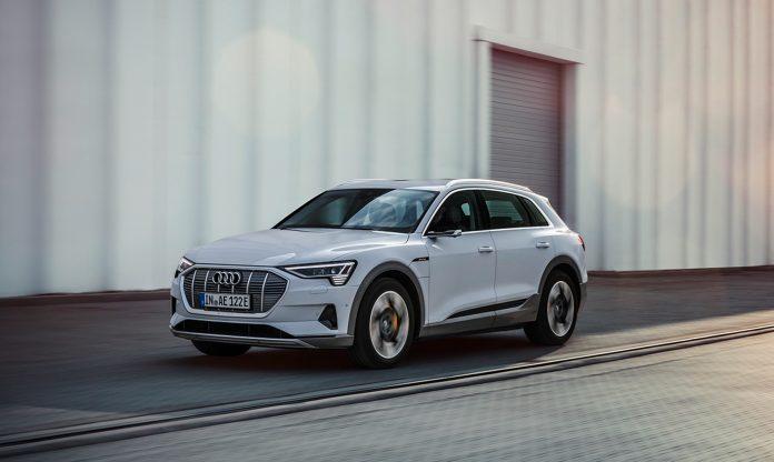 Audi har nå på gang en rimeligere versjon av elbilen e-tron. (Alle foto: Audi)