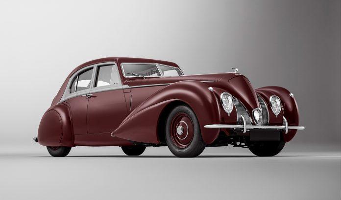 Denne bilen har ingen sett siden 1939. (Alle foto: Bentley)