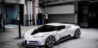 Denne hyperbilen hyller Bugatti EB110, verdens første skikkelige superbil. (Alle foto: Bugatti)