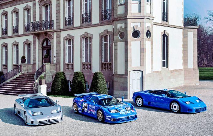 Prisene på eldre superbiler går til værs, noe Bugatti EB110 er et godt eksempel på. (Alle foto: Bugatti)