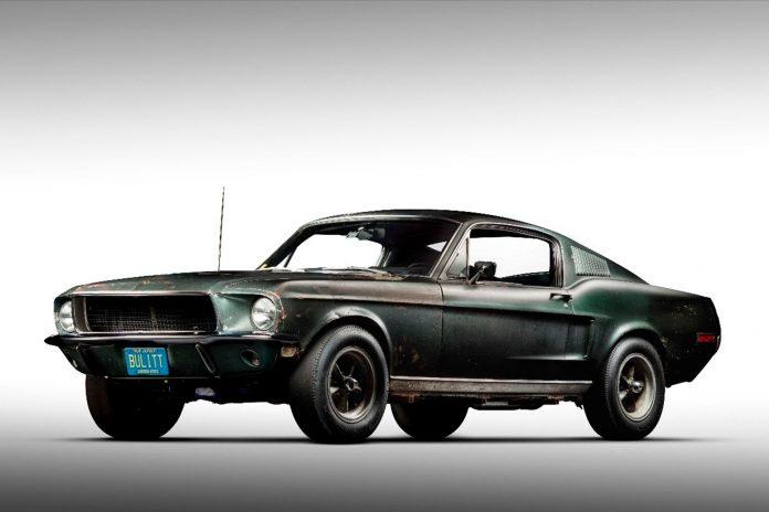Nå kan du sikre deg den originale Bullitt Mustang, men du trenger nok litt cash. (Alle foto: Mecum Auctions)