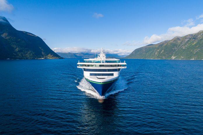Verdens største plug-in hybridskip er klar til innsats. (Foto: UAVPIC)