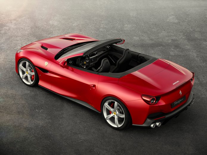 Ja, Ferrari Portofino er vakker å se på. Men det er mer som er imponerende med denne. (Foto: Ferrari)