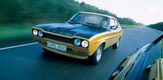 Det er 50 år siden Ford Capri ble lansert. (Alle foto: Ford)