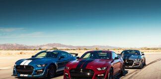 Ford banker til med den sterkeste Mustang som har rullet ut av samlebåndet, en Shelby GT500. (Alle foto: Ford)
