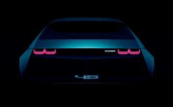 Hyundai skal vise et elbil-konsept som er inspirert av en modell fra 1970-tallet. (Foto: Hyundai)
