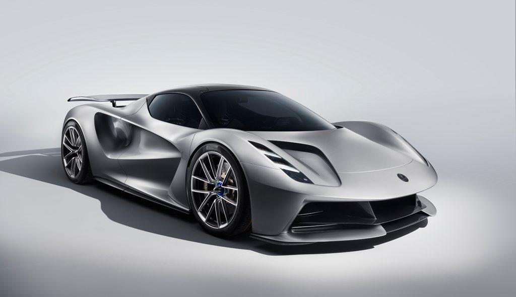 Lotus tar steget over i den nye tiden med en ganske så vill elektrisk sportsbil. (Foto: Lotus)