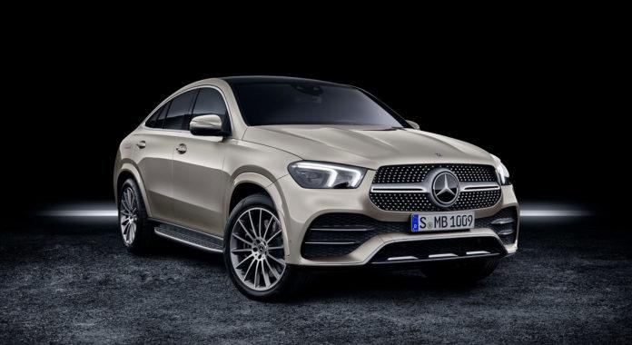 Mercedes kommer nå med en copuéutgave av den nye GLE. (Alle foto: Mercedes)