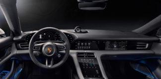 Porsche viser oss mer av innsiden til den kommende elbilen Taycan. (Alle foto: Porsche)
