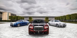 Rolls-Royce pensjonerer dagens utgave av Ghost, og markerer 10 år med en spesialutgave. (Alle foto: RR)