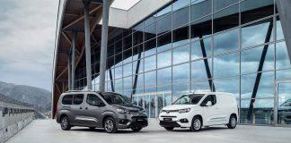 Toyota skal komme med en helelektriske utgave av Proace City i 2021, som er her avbildet i passasjerbilutgaven Proace City Verso. (Begge foto: Toyota)