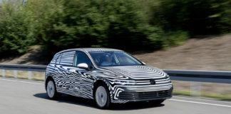 Volkswagen har nå innledet de siste testene rundt 8. generasjon av Golf. (Begge foto: VW)