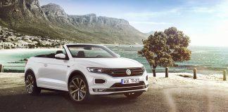Volkswagen har kappet taket av T-Roc, og kan dermed presentere sin første toppløse crossover-modell. (Alle foto: VW)