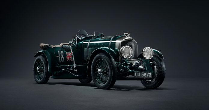 Dette er en 2019-modell, men ikke en ny modell. Faktisk er den 90 år gammel. (Alle foto: Bentley)