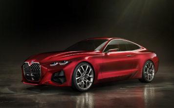 BMW viser oss hvordan framtidens 4-serie kommer til å se ut. (Alle foto: BMW)