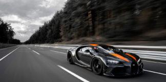 Bugatti har brutt en magisk fartsgrense. (Alle foto: Bugatti)