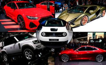 Frankfurt Motor Show er i gang, og her kan du sjekke ut de mange bilene. (Foto: Newspress)