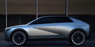 Hyundai viser oss et konsept av framtidens bil, og denne er kalt 45. (Alle foto: Hyundai)