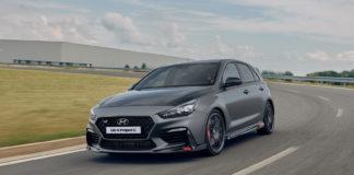 Hyundai viser fram en enda sprekere versjon av i30 N. (Alle foto: Hyundai)