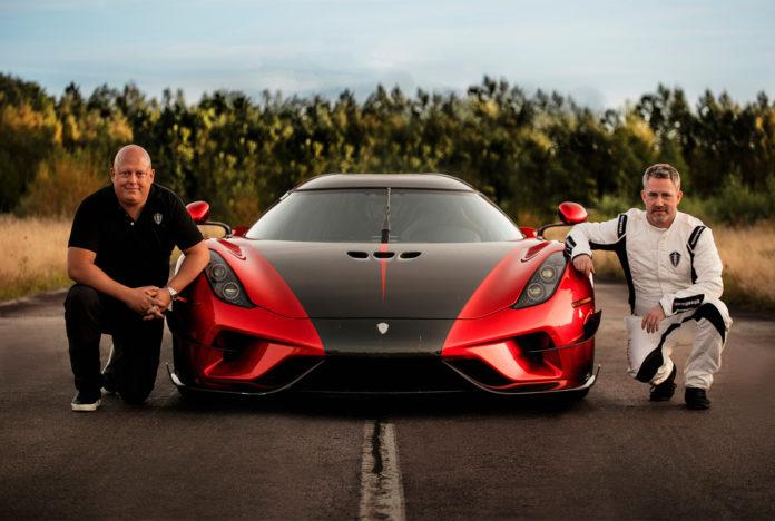 Dette er verdens raskeste bil når det kommer til øvelsen 0-400-0. (Foto: Koenigsegg)