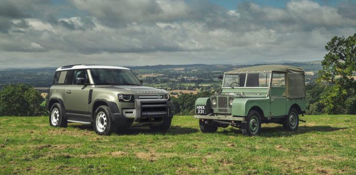 Endelig har Land Rover vist fram den nye Defender. (Alle foto: Land Rover)
