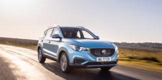 MG skal satse på det europeiske markedet med den elektriske SUV-modellen kalt ZS EV. (Alle foto: MG)