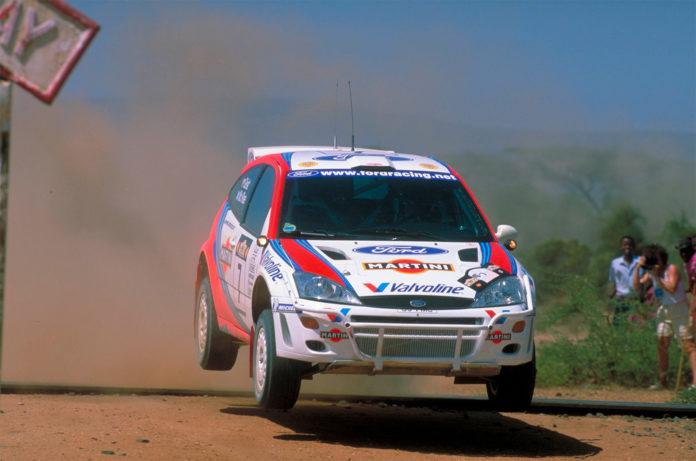 Nå gjør Safari Rally comeback i WRC, og dermed ble ikke Colin McRae den siste vinneren av en VM-runden i Kenya likevel. (Foto: Ford)