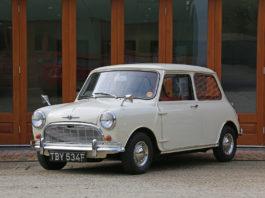 Dette er en så original 1. generasjon Mini som det er mulig å få. (Alle foto: Woodham Mortimer)